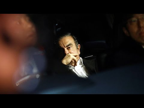 Carlos Ghosn Leaves Japan for Lebanon