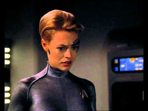 Dude rejects 7of9 Jeri Ryan