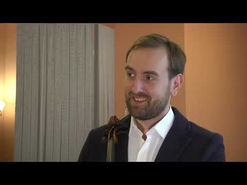 НТА - Незалежне телевізійне агентство: #Культурний блог: скрипаль-віртуоз Олександр Божик готує нову шоу-програму