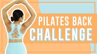 3-Minute Killer Back Toning Workout| POP Pilates Song Challenge!