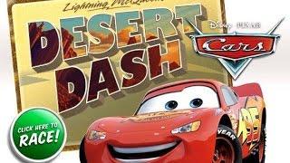 Тачки Молния МакКуин игра - Гонка в Пустыне (Cars Lightning McQueens Desert Dach)