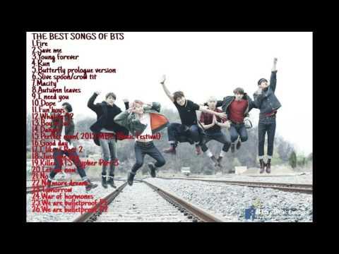 BTS(방탄소년단) _ The best songs