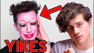 JAMES CHARLES: Bad at makeup?