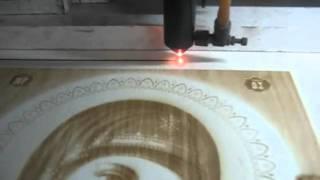 Лазерная гравировка иконы(, 2011-12-28T11:38:25.000Z)