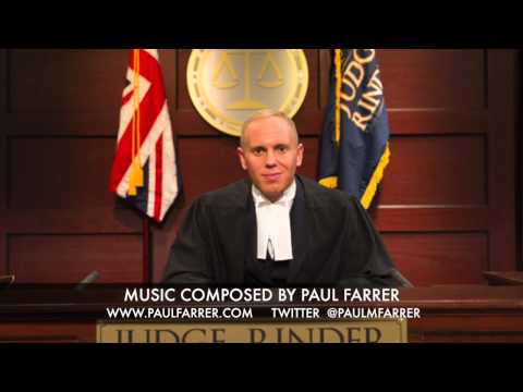 Judge Rinder Theme Music by Paul Farrer