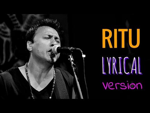 RITU | Nepali Lyrics Video | Deepak Bajracharya