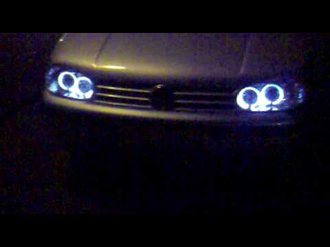 golf showing angel eyes and grill flash lights youtube. Black Bedroom Furniture Sets. Home Design Ideas