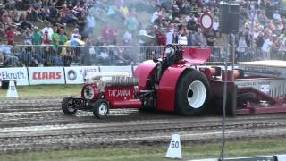 EK Tractorpulling Füchtorf 2012 : Tatjaana - Modfified