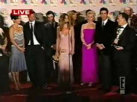 E Backstage With The Friends Cast At The 54th Emmy Awards