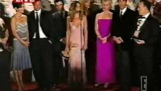 E! Backstage With The Friends Cast At The 54th Emmy Awards ~ September 22, 2002