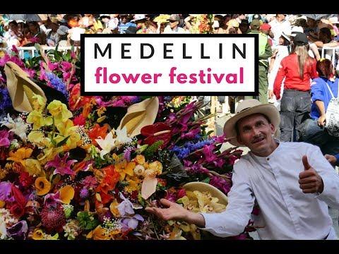 COLOMBIA GAY TRAVEL: Flower Festival in Medellin vlog