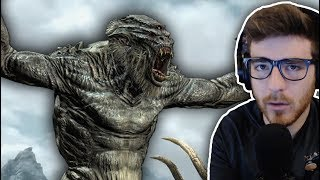Who is the STRONGEST CREATURE in Skyrim? (Tournament)