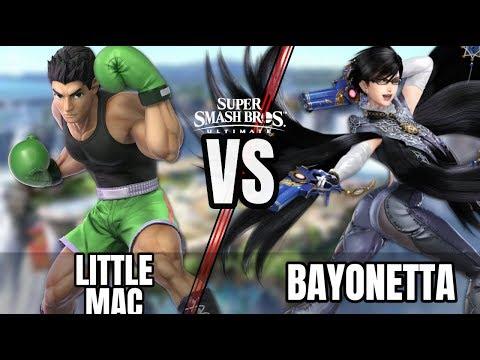 LITTLE MAC VS BAYONETTA  Smash Bros Ultimate