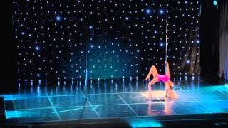 Olga Spezia - Greek Pole Dance Championship 2016 by Rad Polewear - Professional Division
