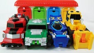 Hello carbot transformation play 헬로카봇 마하피스 브레이브로드 색깔 변신 놀이