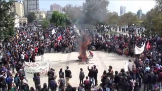 La Justicia en Llamas. MARCHA POR LA EDUCACIÓN 11 Abril 2013