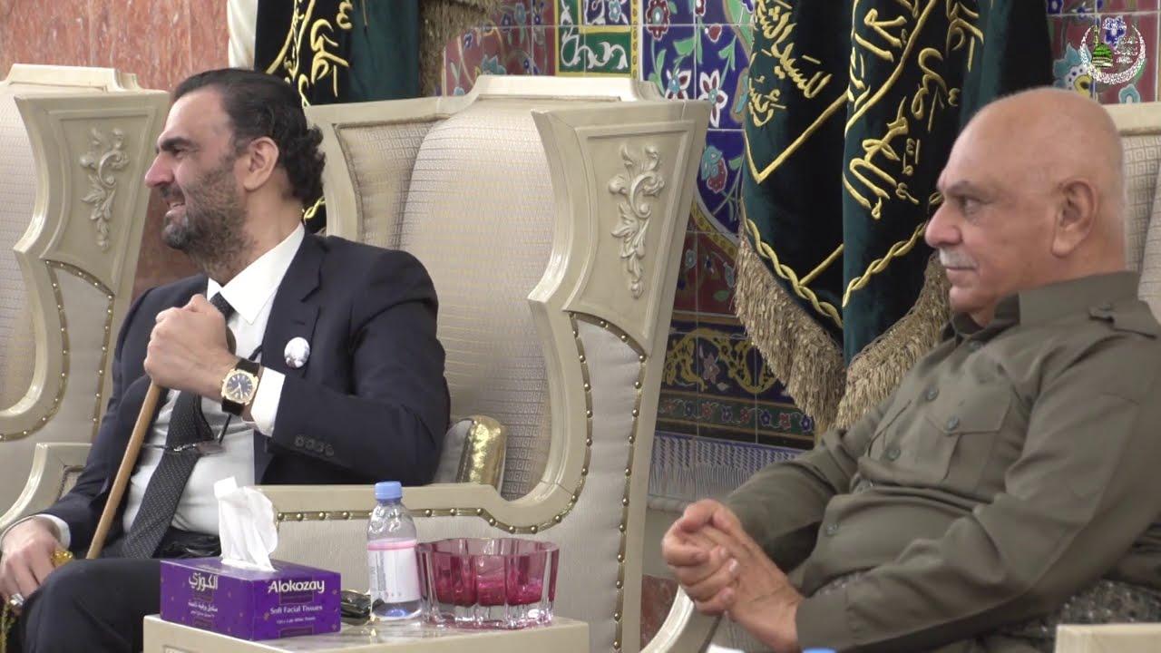 مجلس العزاء للسلطان الخليفة محمد المحمد الكسنزان الحسيني بحضور بعض الشخصيات الحكومية والسياسية