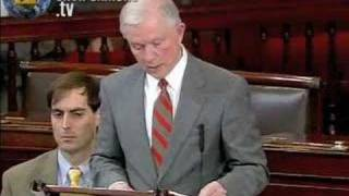 CLIMATE CHANGE ACT: Sen. Jeff Sessions Free HD Video