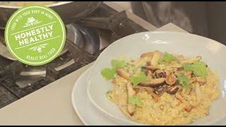 Wild Mushroom & Millet Risotto | Honestly Healthy X Melanie C