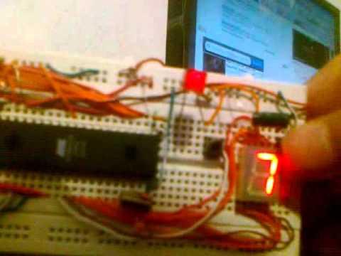 microcontroller mini project - YouTube