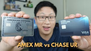 Amex Membership Rewards vs Chase Ultimate Rewards