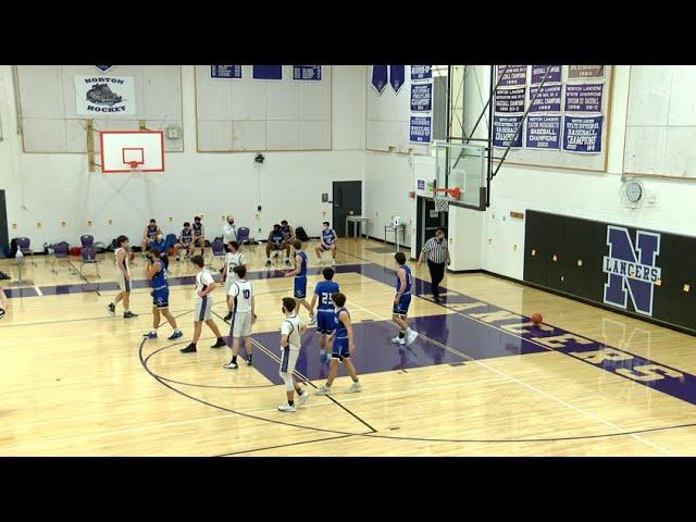 Norton vs Dover-Sherborn Varsity Basketball 01/10/21