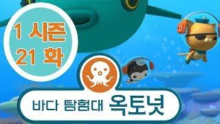 바다 탐험대 옥토넛 - 딱총새우 (시즌1 에피소드21 …