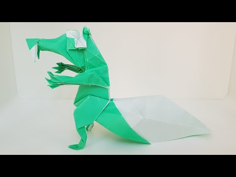 Origami (Ice Age) Squirrel (Time-lapse)