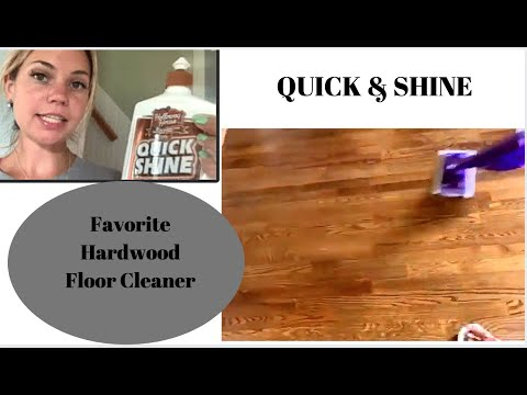 HARDWOOD FLOORS/SHINE & GLOSSY/FROM DULL TO GLEAMING/QUICK & SHINE/HIGH TRAFFIC FLOORS/