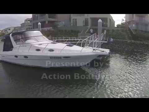 Mustang 3400 Sports Cruiser for sale, Action Boating, boat sales, Gold Coast, Queensland, Australia