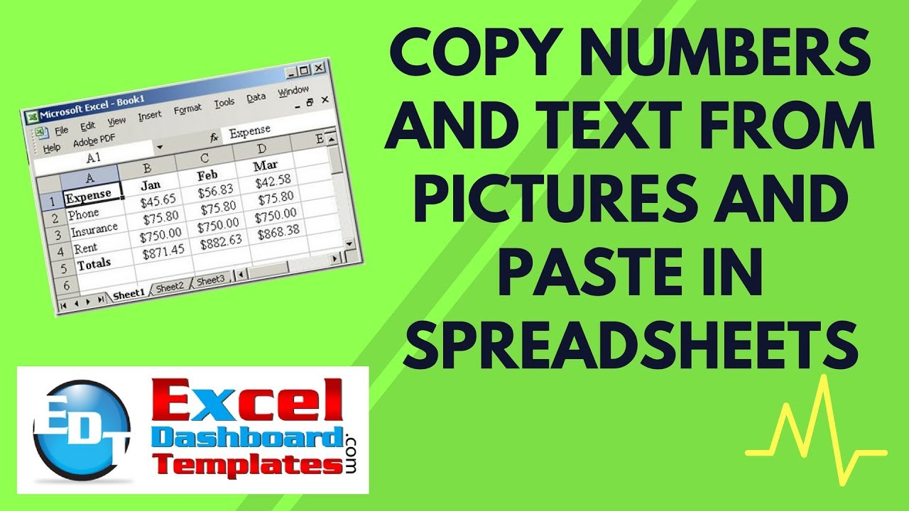 copy and paste letters copy numbers and text from pictures and paste in excel 5127