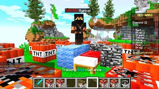 ADMIN gave me 1000 TNT in MiNECRAFT BEDWARS