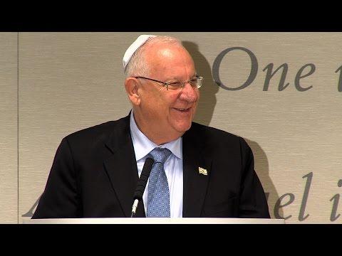 Israeli President Reuven Rivlin Addresses American Rabbis - UJA-Federation NY
