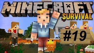 Minecraft Survival Deel 19 - Velen Handen(Met Torches) Maken Licht Werk!