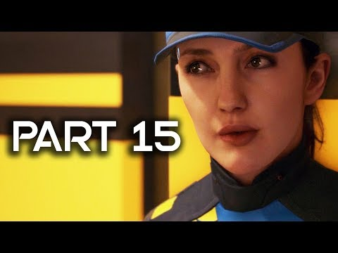 Detroit Become Human Gameplay Walkthrough Part 15 - The Stratford Tower (PS4 PRO Detroit Gameplay)