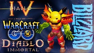Diablo Immortal, Warcraft Pokemon, Diablo 4: Is this Blizzard?