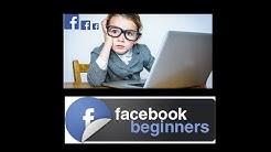 Learn Facebook Easy Video Tutorial For Seniors, Senior Citizens, How To, Learn
