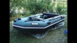 видео лодка барк