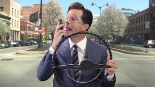 Let Stephen Colbert Be Your Co-Pilot on Waze!