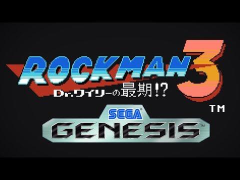 Title Screen Theme - Megaman 3 - Sega Genesis Remix