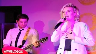 Live: Polina Gagarina - A Million Voices (Russia Eurovision 2015) @ Vienna 12 Points | wiwibloggs