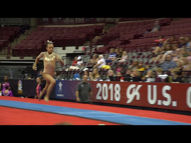 Trista Goodman - Vault - 2018 GK U.S. Classic - Junior Competition