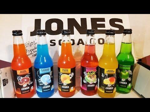 7-Eleven Jones Soda Unboxing and Taste Test.