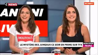 "Les JumeLLes chez ""MORANDINI LIVE"" - Emission du 1er NOV 2018"