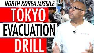 Tokyo Japan North Korea Missile Evacuation Drill 2018 - Abe Calls North Korean Threat Imminent 🚀⚠️