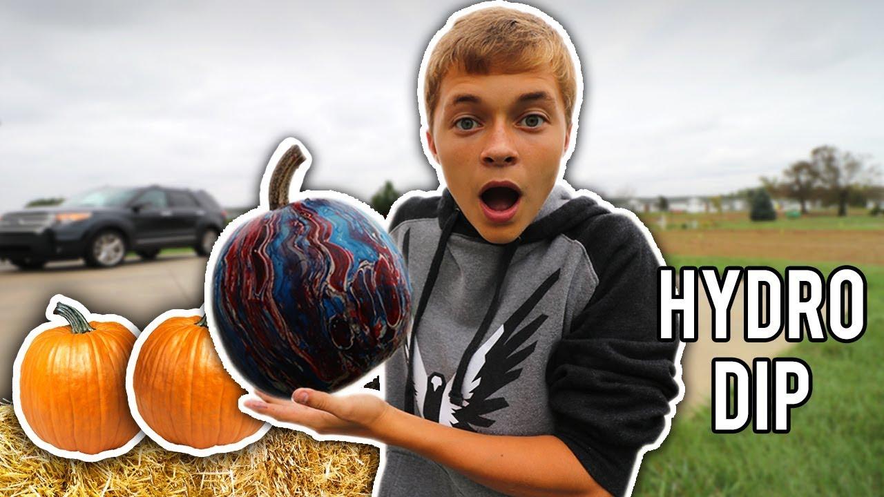 d7fecb8d78e157 HYDRO DIP PUMPKIN!! - YouTube