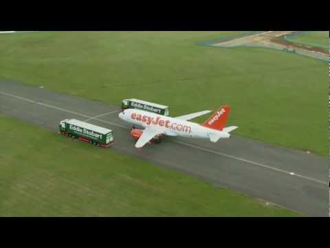 easyJet and Eddie Stobart launch partnership of easyJet and London Southend Airport