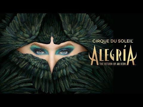 Return of an ICON | Alegría Comes Back to the Big Top! | 25th Anniversary | Cirque du Soleil
