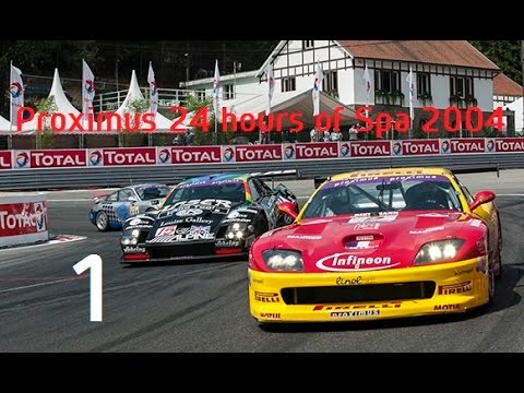 Proximus 24 hours of Spa 2004 (1/4) Club RTL