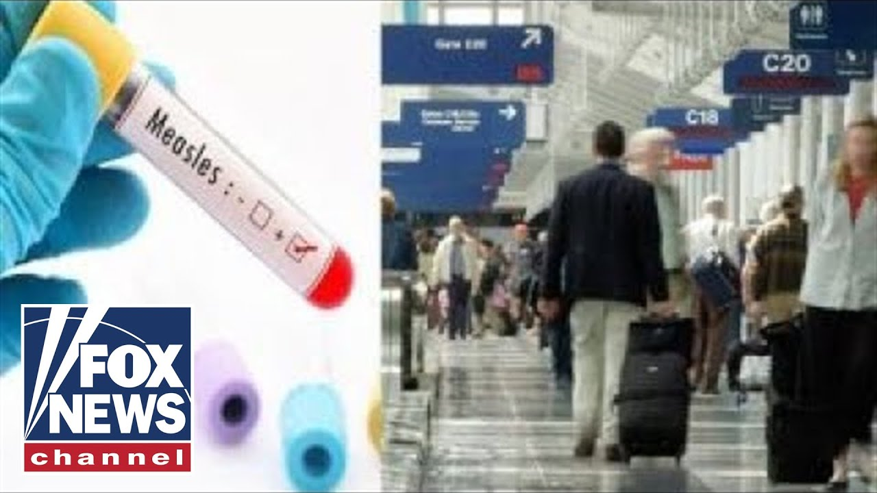 Travelers With Measles Were At Detroit, Newark, Memphis Airports